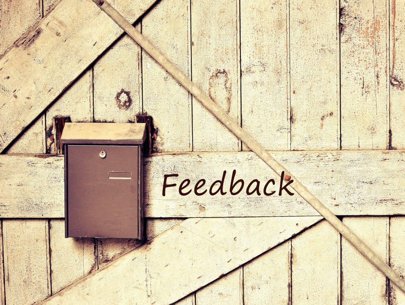 Fundamentals of a Constructive Feedback