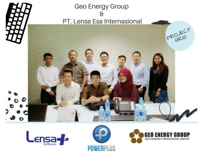 Geo Energy Group is now using PowerPlus HRIS from PT. Lensa Esa Internasional