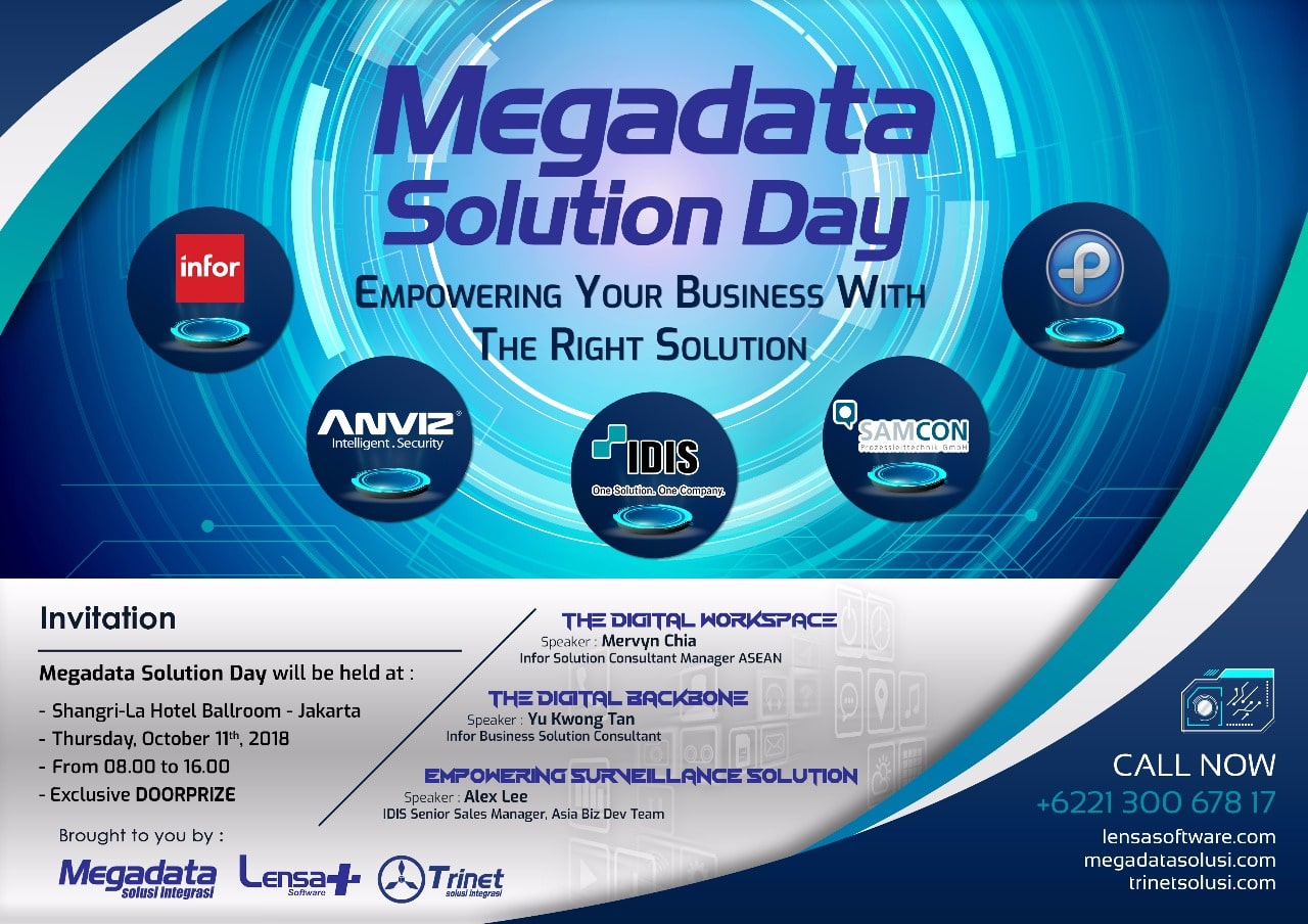 Megadata Solution Day 2018