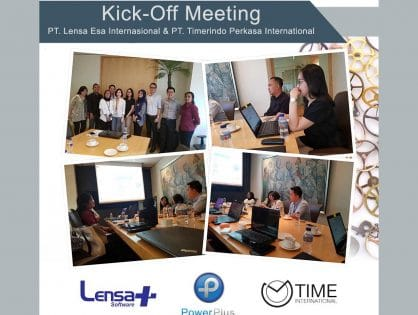 Kick-off Meeting PT. Lensa Esa Internasional & PT. Timerindo Perkasa International